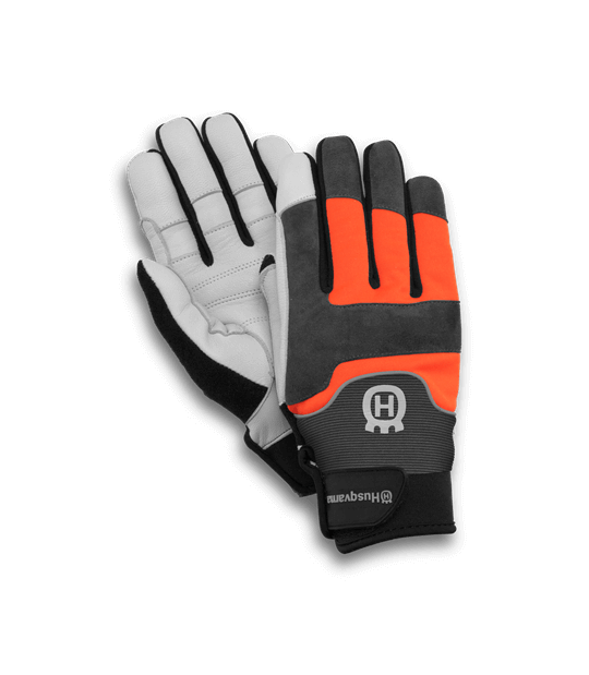 GUANTES DE TRABAJO ORIGINAL HUSQVARNA ANTICORTE  TECHNICAL TALLA 8